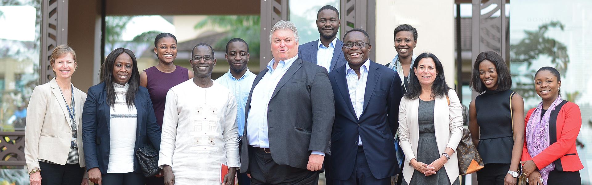 Bank Of America Merrill Lynch Top Executives Visit Ashesi